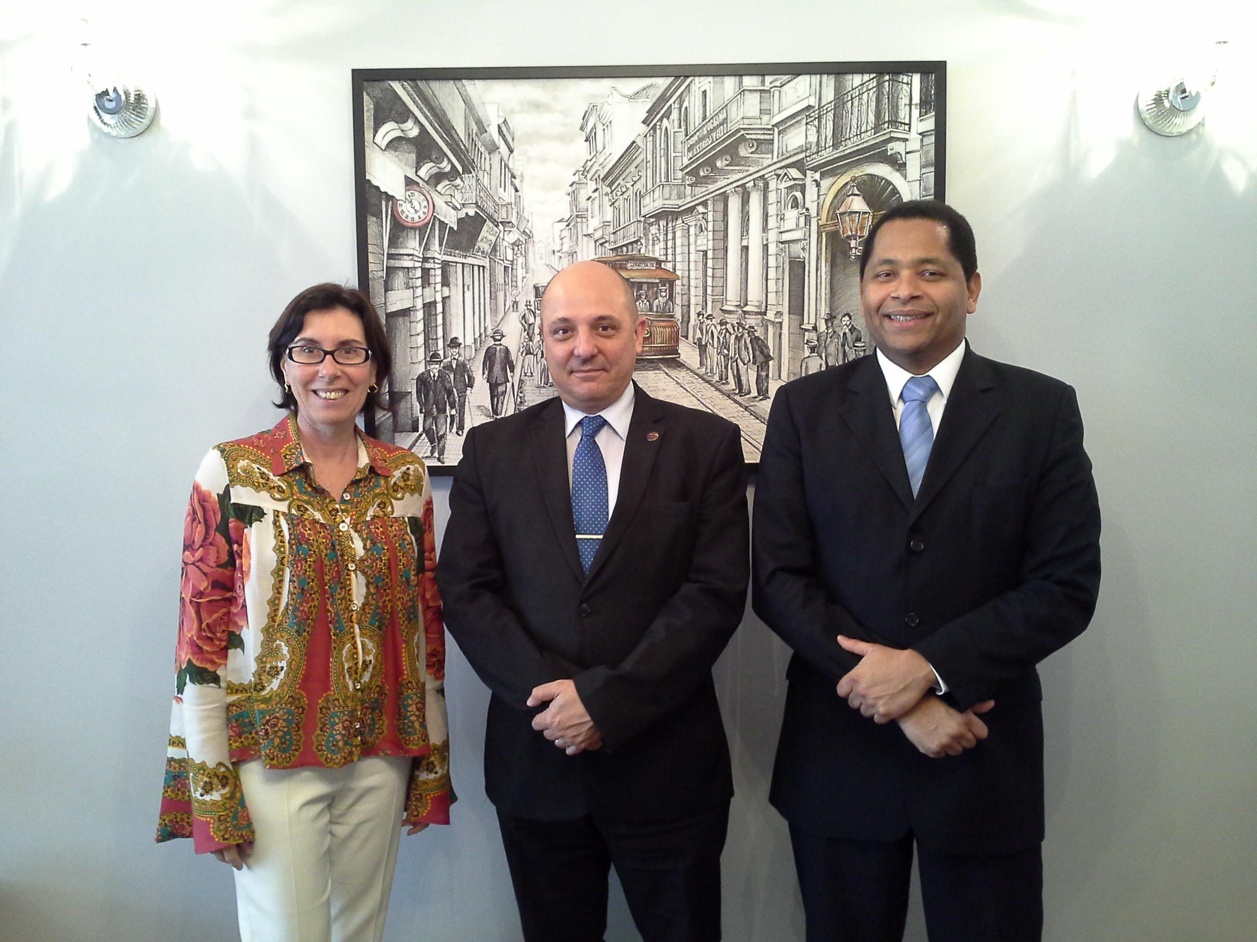 SindiproesP recebe visita do Presidente do SINAFRESP
