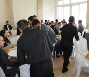 SindiproesP recebe novos Procuradores do Estado em almoço