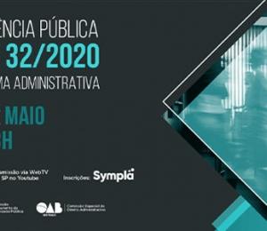 Audiência Pública PEC 32/2020 – Reforma Administrativa