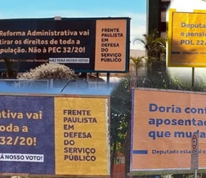 COMUNICADO – Frente Paulista em Defesa do Serviço Público
