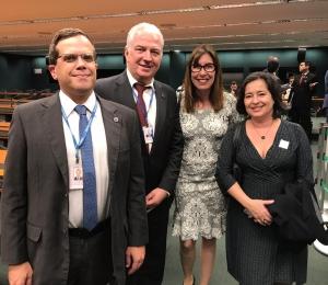SindiproesP vai ao Congresso contra Reforma da Previdência (PEC 06/2019)