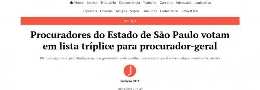 Procuradores do Estado de São Paulo votam em lista tríplice para procurador-geral