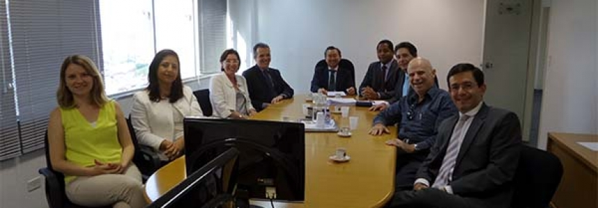 SINDIPROESP reúne-se com o Corregedor Geral da PGE