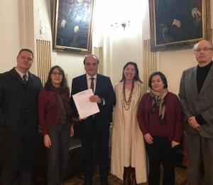 SINDIPROESP REÚNE-SE COM SECRETÁRIO DA JUSTIÇA E CIDADANIA