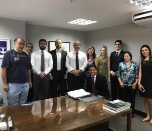 SINDIPROESP VISITA COLEGAS DE BRASÍLIA