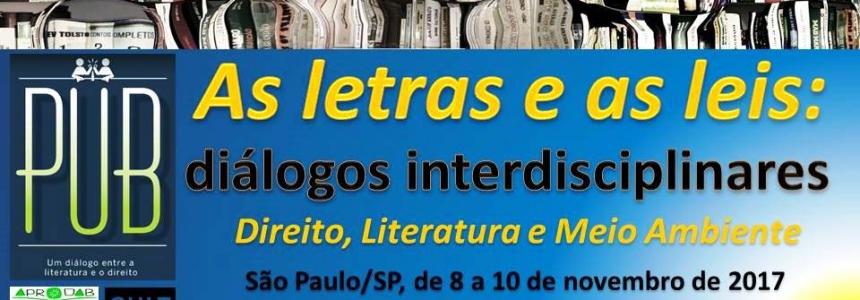 AS LETRAS E AS LEIS: DIÁLOGOS INTERDISCIPLINARES