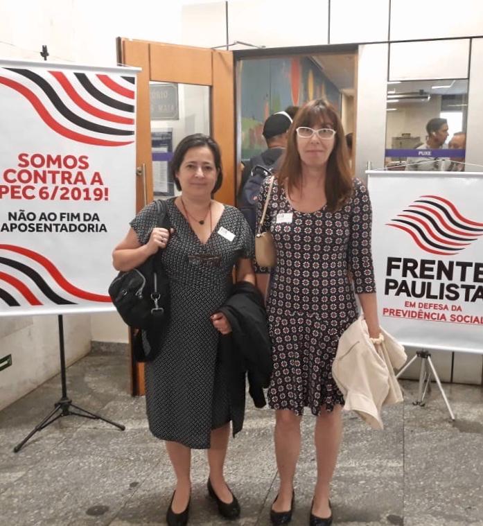 SINDIPROESP COMPARECE A ATO DE INSTALAÇÃO DA FRENTE PAULISTA EM DEFESA DA PREVIDÊNCIA SOCIAL, NA CÂMARA MUNICIPAL DE SÃO PAULO