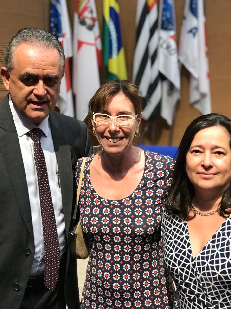SINDIPROESP COMPARECE A AUDIÊNCIA PÚBLICA NA OAB/SP E CONVERSA COM DEPUTADO LUIZ FLÁVIO GOMES SOBRE A REFORMA DA PREVIDÊNCIA
